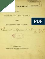 Estadística de la República de Chile