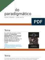 Ejemplo Paradigmático de Pedro Páramo