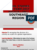 6th Social Studies Southeasth Region
