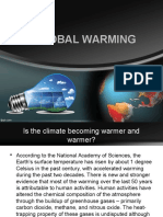 Global Warming-Climate Change