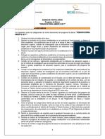 Obligaciones Convocatoria Abierta 2017