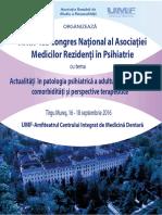 Program Congres AMRPR 2016