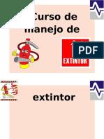 Curso de Manejo de Extintor