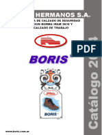 Catalogo Botines de Seguridad Boris