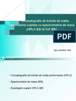 2 Prezentare Metoda HPLC MS