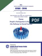Mumbai Chapter CCQC 2016