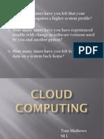 Cloud Computing - PPT