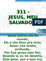 311 - Jesus, Meu Salvador