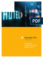 Horwath HTL European Hotels and Chains Report 2017