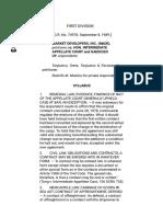 G.R. No. 74978 Market Developers, Inc. v. Intermediate Appellate