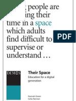 their space - web