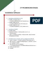 Aide Memoire Intall Soft CT PIC18EthCAN-Eval01 v1 R2