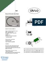 AMO Rotary Kit Encoder Datasheet