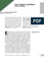 Artigo A conflitualidade conjugal e o paradgma da violencia contra a mulher Barbara Soares.pdf