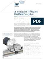 Bell Everman White Paper Plug and Play Motion Subsystems v2