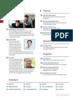Inhaltsverzeichnis Fundraiser Magazin 2015 4