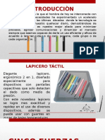 LAPICERO TACTIL - PRODUCTO INNOVADOR.pptx