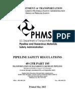 PHMSA SafetyRegulations2015 Part 193