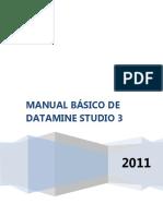 Manual Básico de Studio  3 DATAMINE 2016