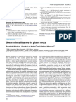 Swarm Intelligence in Plant Roots