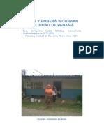 Kunas y Embera Wounaan en Panama Gvb Dic 2009
