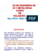 Explosivos y Accesorios de Voladura Minera