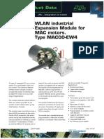 JVL WLAN Industrial Expansion Module for MAC Motors. Type MAC00-EW4