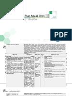 Planificacion Anual Ciencias Naturales 8basico 2016