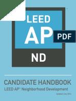 ND Candidate Handbook 063016