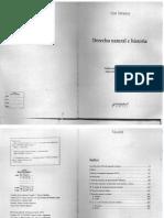 Derecho natural e historia - Leo Strauss.pdf