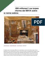 188.000 Millones Los Torpes Errores Del Informe Del Bbva Sobre La Renta Basica