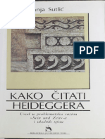 Kako Citati Heideggera _ Uvod u Problemats - Vanja Sutlic