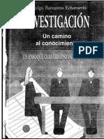 Investigacion Camino Conocimiento Barrantes 01-1