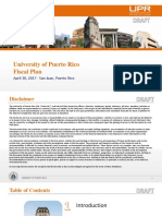 UPR Fiscal Plan 2017 Draft-Rev