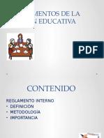 Instrumentos de La Gestión Educativa
