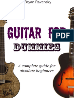 Guitar for Dummies a Complete Guide for Absolute Beginners - Bryan Ravensky