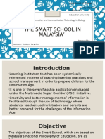 Presentation 'The Smart School in Malaysia'