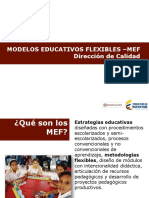 Modelos Educativos Flexibles-MEF MEN_Sep 2016