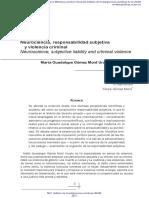 Neurociencia, Resp. subjetiva y violencia criminal (M.Gpe. Gómez MOntt).pdf
