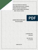 Laboratorio Mecanica Fluidos Venezolano