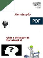 Overview Gestão Manutenção