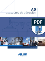 Alup Adsorption Dryer AD 7-1300 Leaflet ES 6999640001