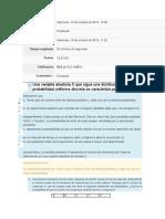 Unidad 2 Evaluación Distribuciones Discretas de Probabilidad