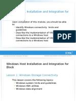 R MOD 06-Windows Host Installation and Integration for Block