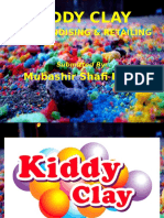 KIDDY CLAY - MERCHANDISING & RETAILING Presentation