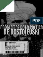 Bajtin Mijail - Problemas de La Poetica de Dostoievsky