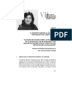Algunas Precisiones Sobre La Aplicacion de La Tecnica Del Valr Agregado y Los Requisitos Sustantivos Del Credito Fiscal Previstos Por La Legislacion