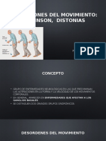 Neurología - Alteraciones del Movimiento, Parkinson