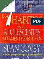 Los 7 Hábitos de Los Adolescentes Altamente Efectivos - Sean Covey