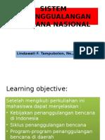 Sistem Penanggualangan Bencana Nasional